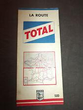 Carte  total michelin  france sud  999 1962