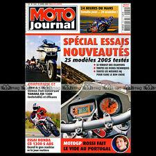 MOTO JOURNAL N°1661 HONDA 1300 PAN EUROPEAN KTM SUPERDUKE TRIUMPH SPEED TRIPLE
