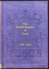Genealogy - Eston Parish Registers (Yorkshire)