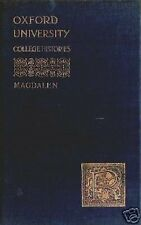 Oxford University College Histories: Magdalen
