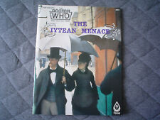DR. WHO RPG Role Playing Game BOOK - THE IYTEAN MENACE - Excellent Condition