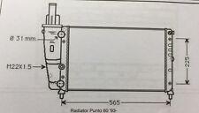 Fiat Punto 60 Radiator (496x322 core)
