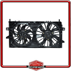 New Dual Radiator and Condenser Fan Assembly for Impala Impala Limited Grand Pri