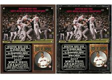 Boston Red Sox 2007 World Series Champions Photo Plaque