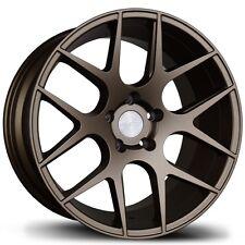 Avid.1 AV30 18X8.5 5x100 +35 Bronze Rims Fits Impreza Golf Corolla Tc