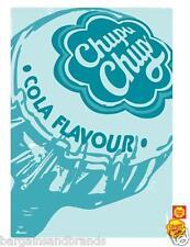 Chupa Chups 🍭 Cola Lollipop Print Cotton Tea Towel Kitchen RETRO GIFT 🎁