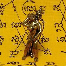INN SEX Thai Amulet Buddha Yant Talisman Luck Rich Protect Pendant Success #8