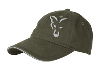 New Fox Green & Silver Baseball Cap - CPR996	- One Size - Carp Fishing Hats