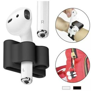 AirPods Holder Protective Anti-lost Band Shockproof Silicone Case Apple Watch