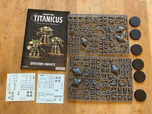 Adeptus Titanicus - Imperial Questoris Knights x 6