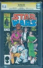 Star Wars 107 CGC SS 9.6 Whilce Portacio Last Jedi Movie 1986 White Pages