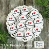 "12  Love Taekwondo Pins 1 1/4"" Pinback Buttons Party Favor Gift New Tae Kwon Do"