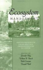 Ecosystem Management: Adaptive Strategies For Natural Resource Organizations in