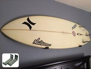 Naked Surfboard | Minimalist Surfboard Wall Display Rack | StoreYourBoard | NEW