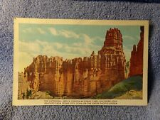 Vintage Postcard The Cathedral, Bryce Canyon National Park