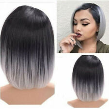Wigs Short Straight Synthetic Hair Full Wigs for Women Natural Looking Heat
