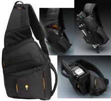 NWT Case Logic SLRC-205 SLR Camera Black Sling Shoulder Bag Backpack NEW