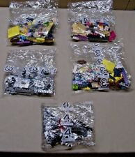 (Lot Of 5) Unopened Lego Mystery Packets