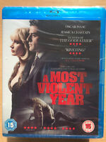 Oscar Isaac Jessica Chastain MOST VIOLENT YEAR ~ 2014 Crime Thriller UK Blu-ray