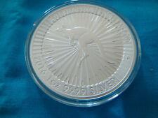 2016 Australia Kangaroo Perth Mint 1 Oz Silver Round .9999 Fine in Capsule Df+