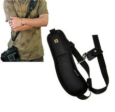 Cámara Bandolera Solo Sling Correa Cinturón Esponja Almohadilla Para Canon Nikon Sony DSLR