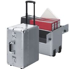 Pilot Case with trolley Pilot trolley wheeled aluminium  silver  XXL EXTRA LARGE