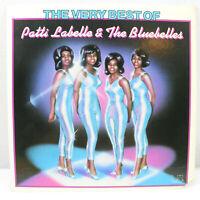 The Very Best of Patti Labelle & The Bluebelles Vinyl Record LP VG+ UA-LA504-E