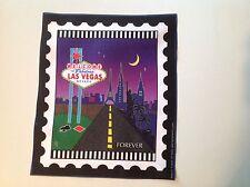 City Stamp fabric panel - Las Vegas, Nevada