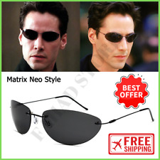 The Matrix Fashion Neo Style Polarized Sunglasses Ultralight Rimless For Men