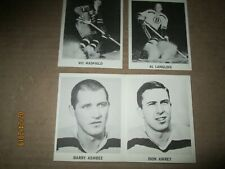 1965/66 Coke NHL Hockey Cards LOT OF 10 WITH BARRY ASHBEE