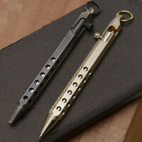 EDC Tactical Stainless steel Bolt Action rifle style ball point Kubaton pen Gift