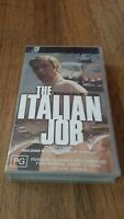 THE ITALIAN JOB - MICHAEL CAINE, NOEL COWARD - VHS VIDEO