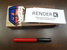 Karas Kustoms Render K Prototype Derlin Body Black & Red  (New in Box)