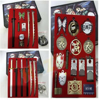 Demon Slayer:Kimetsu no Yaiba Keychain Set Weapon Accessories New in Box