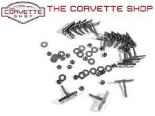 C3 Corvette Bumper Mounting Retainer Kit 18pcs Stainless 73-82 Front 74-82 Rear