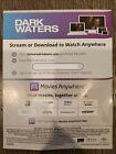 Dark Waters HD Digital Movie Code (from blu-ray)