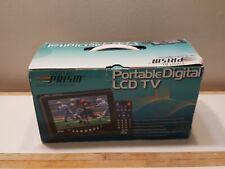 "Digital Prism  7"" Portable LCD ATSC Color TV ATSC-710 Excellent condition"