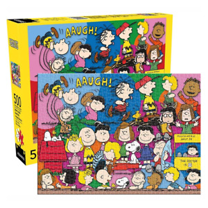 Aquarius Peanuts Cast 500 Piece Jigsaw Puzzle NEW