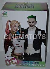 Suicide Squad Movie Joker Jared Leto & Harley Quinn Margot Robbie Statue DC