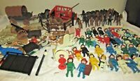 Playmobil  lot  40 figures, 19 horses and cows please see pictures