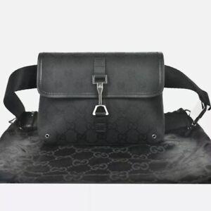 GUCCI GG Monogram Fanny Pack Belt Bag / F270.21189