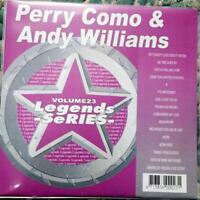 LEGENDS KARAOKE CDG PERRY COMO & ANDY WILLIAMS OLDIES COUNTRY #23 16 SONGS CD+G