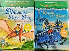 Magic Tree House #1 & #2 2 Books Lot Full Color Edition AR 2.6-2.9 2nd Grade