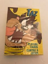 Bicycle Playing Cards TAZ Sealed New Old Stock US Playing Looney Tunes