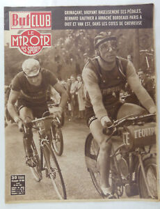Vintage Sports / Cycling Collectable - 'But Club Le Miroir'  French Publication