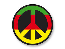 "Pin Button Badge Ø25mm 1"" Rasta Peace Paix Reggae Symbole Rastafarian"