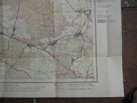 Landkarte Berlin Blatt 1 Nauen 1922 Landesaufnahme Hakenberg Bötzow Schwante
