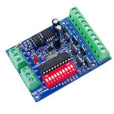 NUOVO DMX 512 6CH RGB DECODER 6 canali 4A/CH Controller per strisce LED 5050 RGB