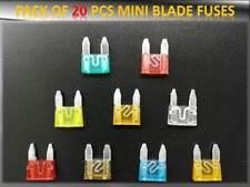 20pcs Smart Auto Sicherungen Set Blade 10 15 20 25 30AMP Top-Qualität