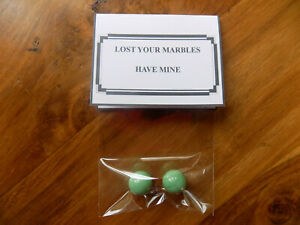 Lost your marbles funny birthday joke present. 18th 21st 30th 40th 50th 60th